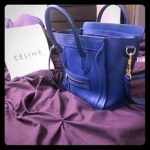 Celine Nano shoulder crossbody bag